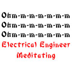 Electrical Engineer Meditating