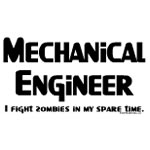 Mechanical Engineer Zombie Fighter