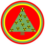 Nuclear Ornaments Circle